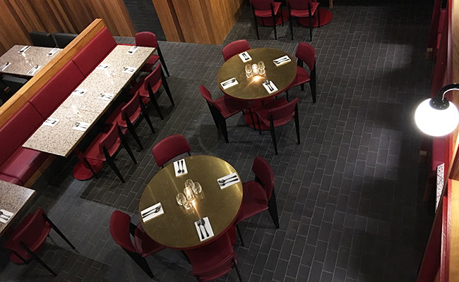 curry restaurant design