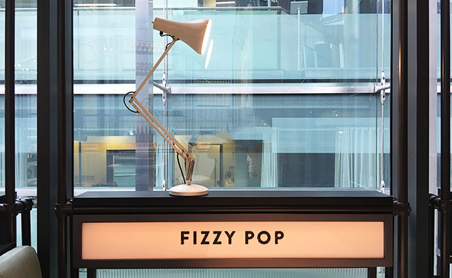 fizzy pop sign