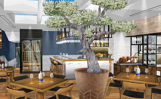 restaurante Andalucia Ferring design