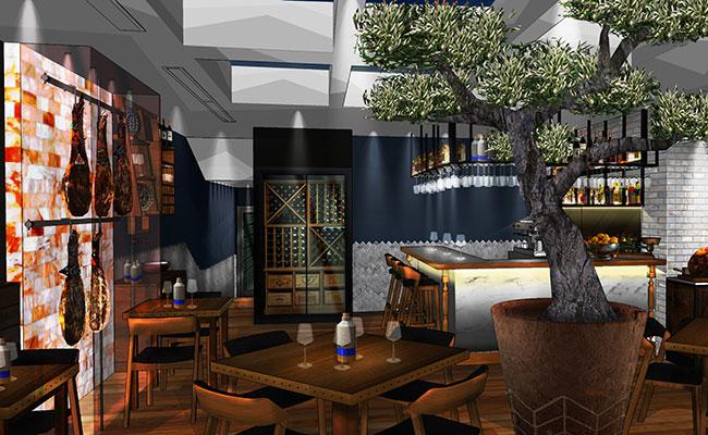 the best tapas restaurant design Andalucia Ferring