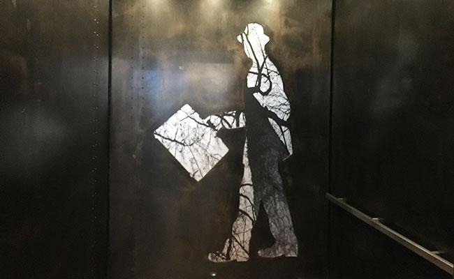 chick hotel elevator design