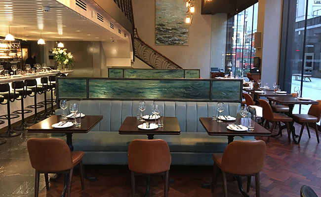 Italian seafood restaurant Veneta in London