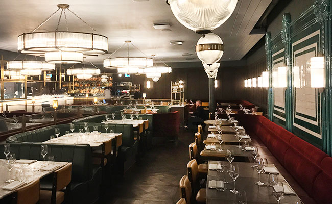 Jamie Oliver's Barbecoa interior