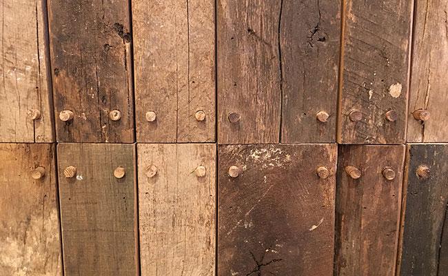 Japanese wood detail