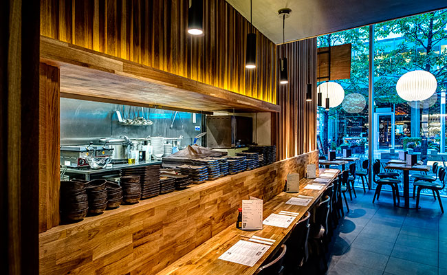 Japanese restaurant designers blenheim design