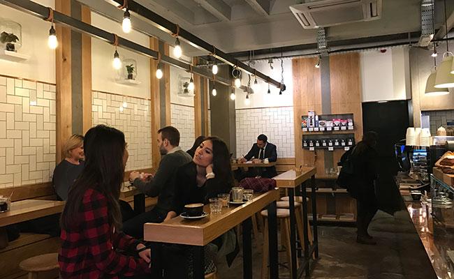 Kaffeine Coffee Shop Blenheim Design