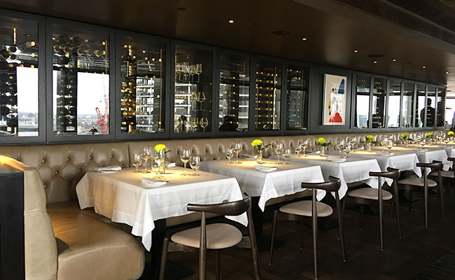 luxurious restaurant design London