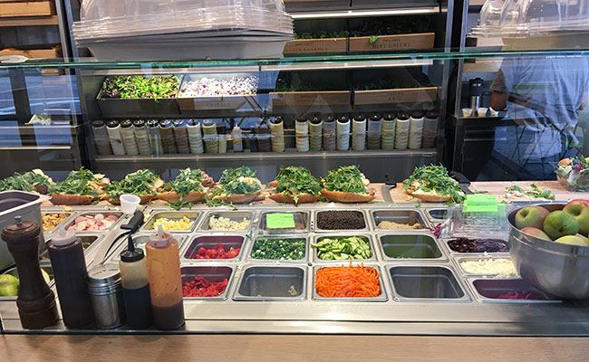 salad deli counter