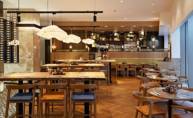large tables in Shoryu Oxford