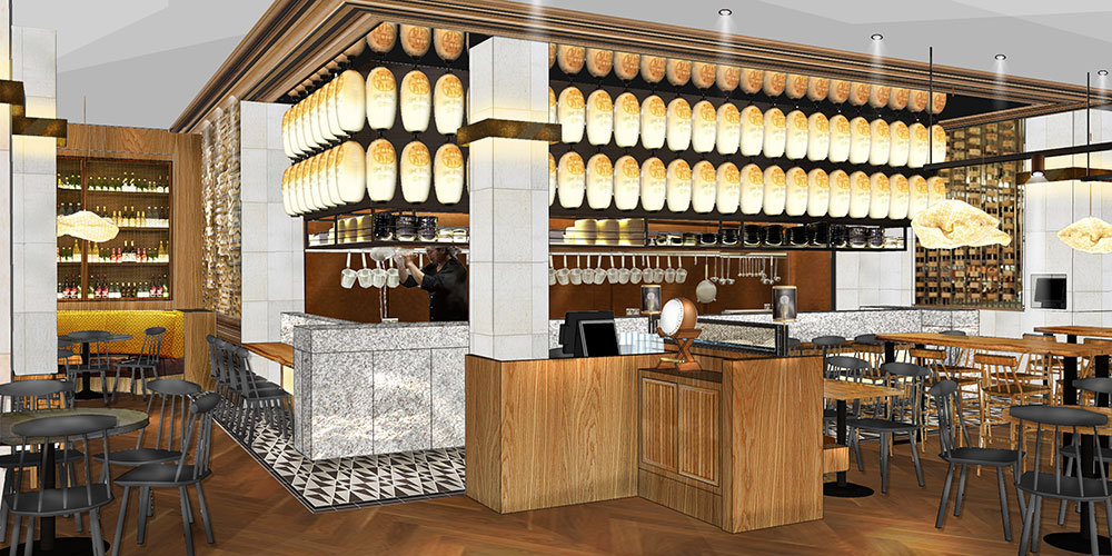 Shoryu Ramen are to open inside fashionable Oxford Westgate Centre in early December 2017. Blenheim Design were chosen to create restaurant design for Tak and Hannah Tokumine, father and daughter team behind well-known Japan Centre and Shoryu Ramen brand.