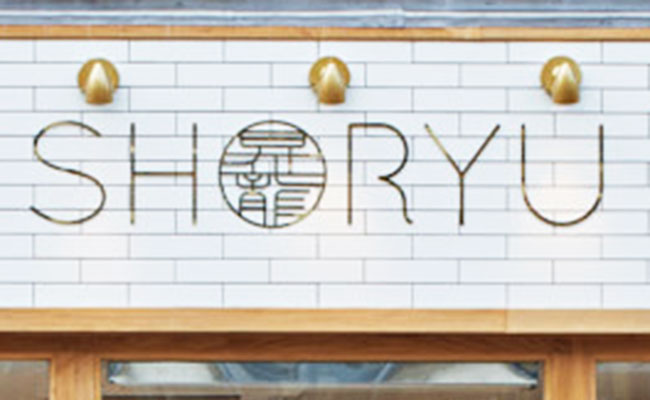 shoryu restaurant sign