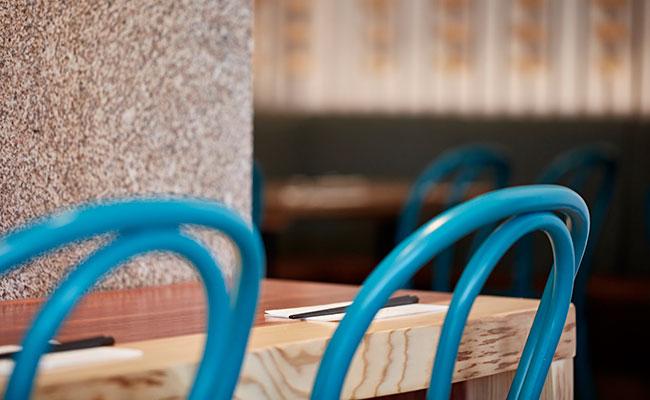 ramen restaurant chairs