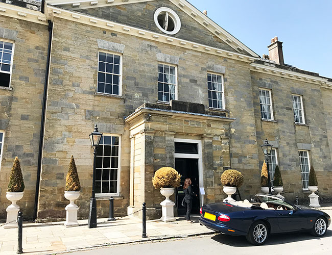 stanmer house hotel exterior view