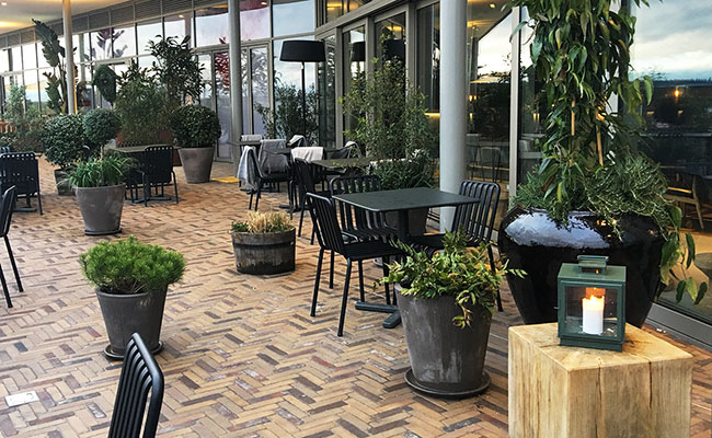 rooftop terrace restaurant Oxford