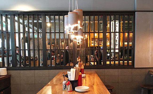 Tokyo ramen restaurant design